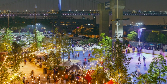 Picture of Philly's RiverRink Summerfest