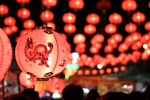 Picture of It's Almost Lights Out at the Lantern Festival