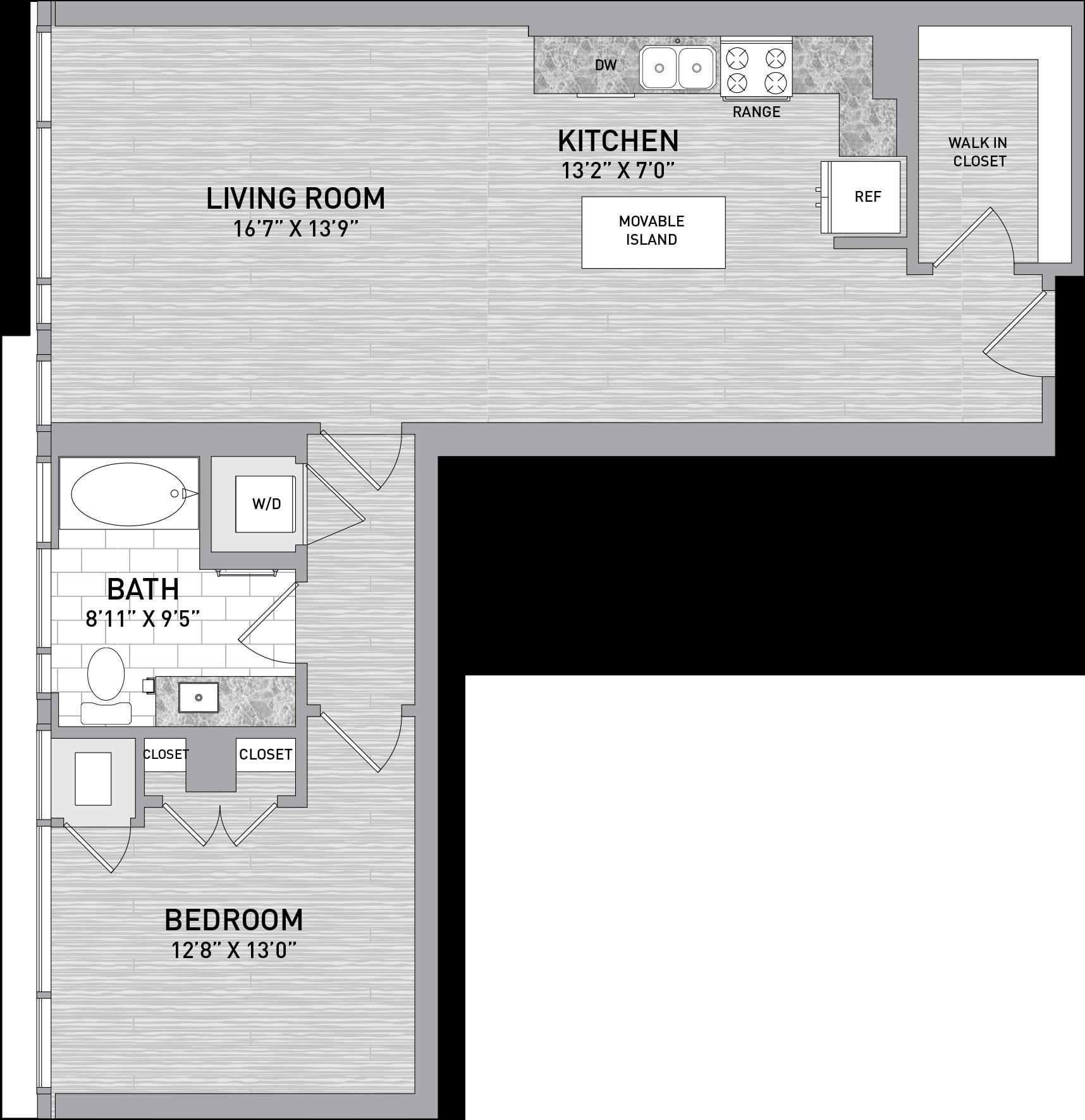 floorplan image of unit id 1026