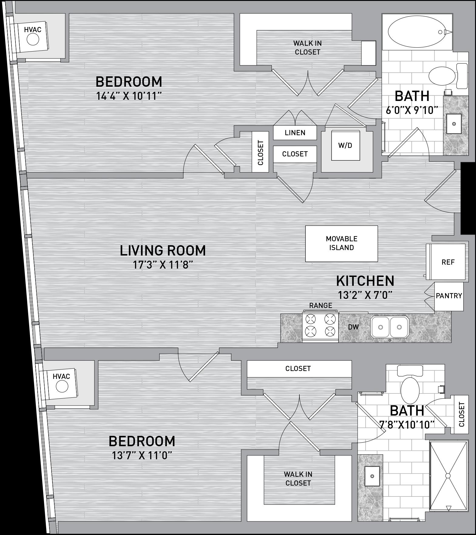 floorplan image of unit id 322
