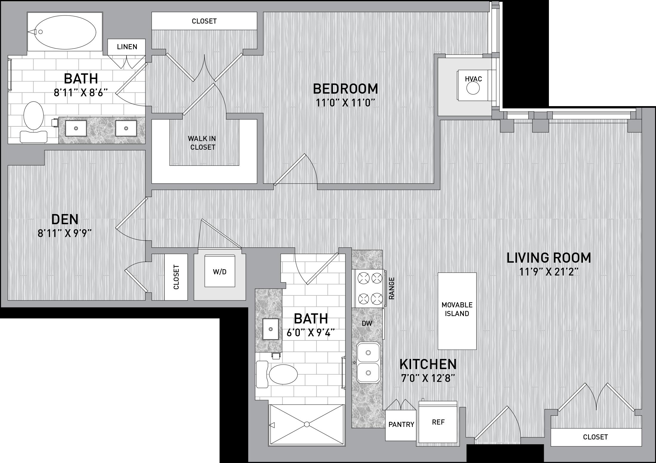 floorplan image of unit id 323