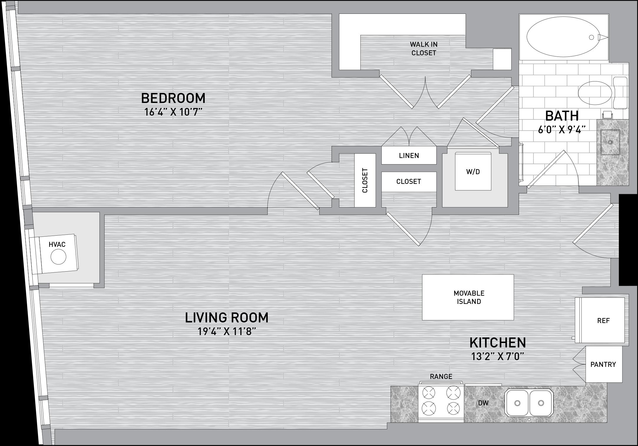 floorplan image of unit id 424