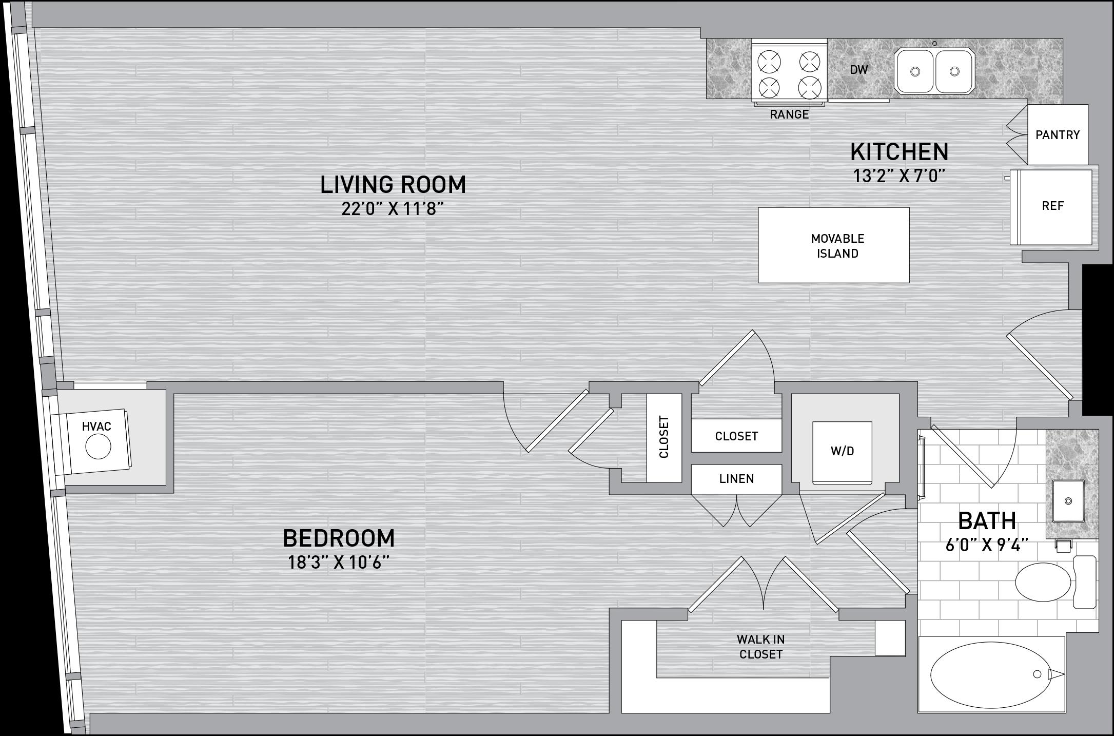 floorplan image of unit id 526
