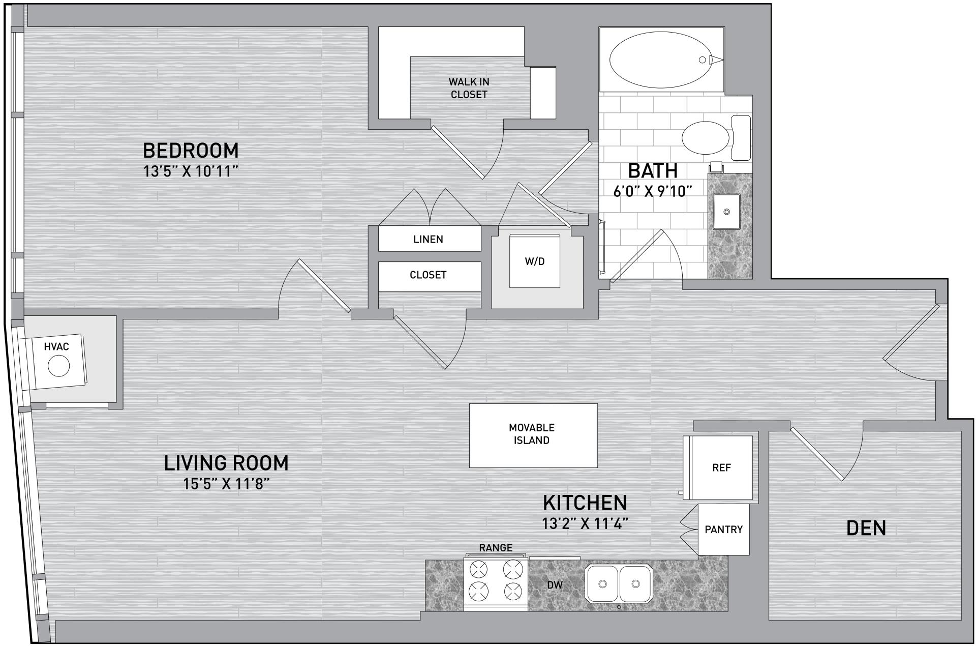 floorplan image of unit id 928